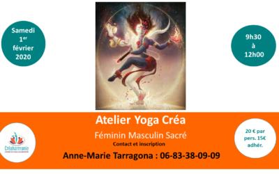 Développer la Conscience de l'énergie Cosmique du Féminin et Masculin sacré